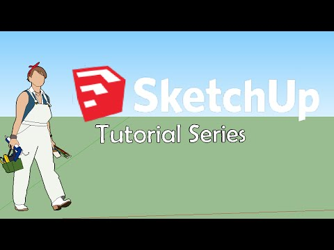 Sketchup 2016 Tutorial 01: Getting To Know Your Tools