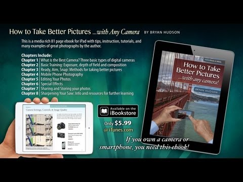 How to Take Better Pictures With Any Camera | Multitouch iPad eBook Preview