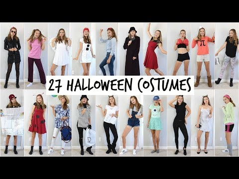 27 DIY Halloween Costumes! 2017