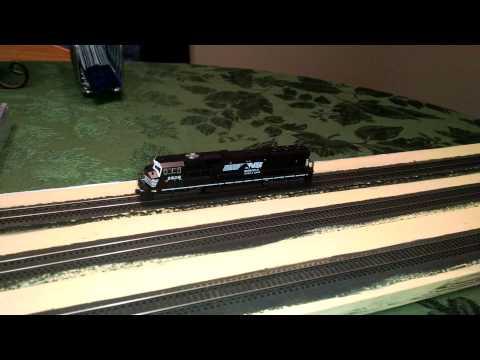 Model Railroad - NCE DCC - Kato SD70MAC