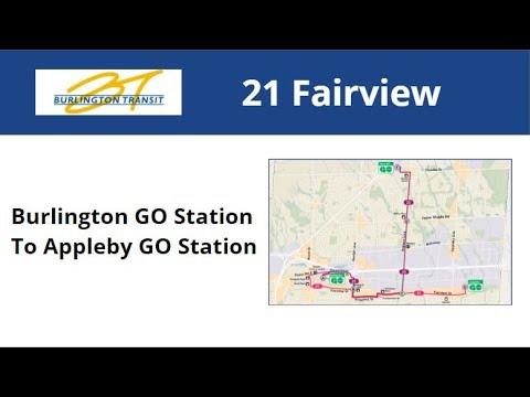 Burlington Transit 2009 NFI D40LF #7003-09 On 21 Fairview (Burlington GO To Appleby GO)