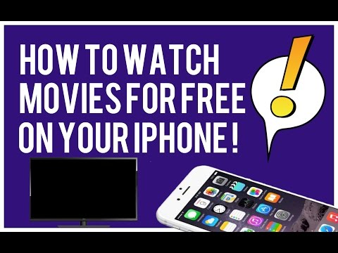 How To Watch Movies For Free!  ( iPhone, iPod, iPad ) (No Jailbreak needed)