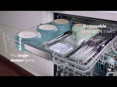 Bosch Dishwashers: Introducing the MyWay™ Rack
