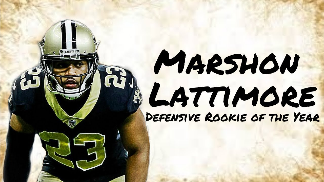"""Marshon Lattimore 2017 Rookie Highlights 