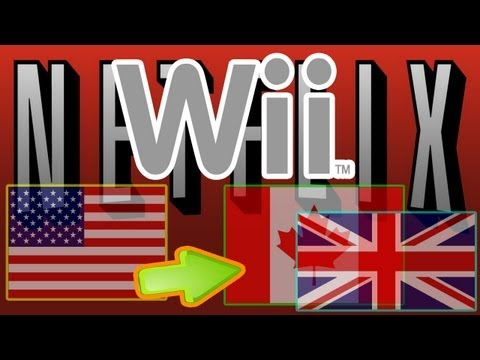 Watch US Netflix in UK Canada and Europe 2014 Tutorial Wii || New Code