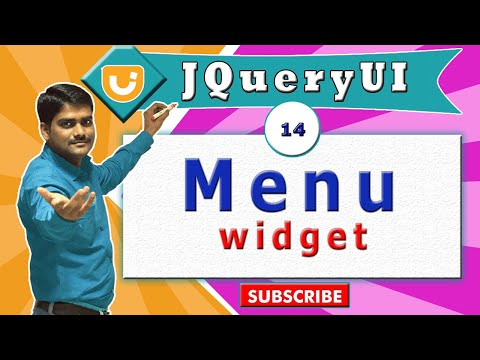 jquery ui video tutorial 14 - Creating Menu Widget