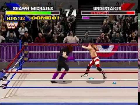 WWF Wrestlemania:  The Arcade Game (PS1) Longplay
