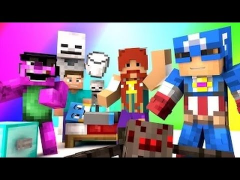 Minecraft Mini-Game : DO NOT LAUGH! (BOOTLEG AVENGERS AND DRINKING MILK!) w/ Facecam