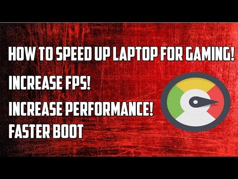 How to Speed up your Laptop for GAMING! -  Speeding Up Your Laptop! 2016