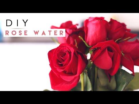 DIY Rose Water Spray