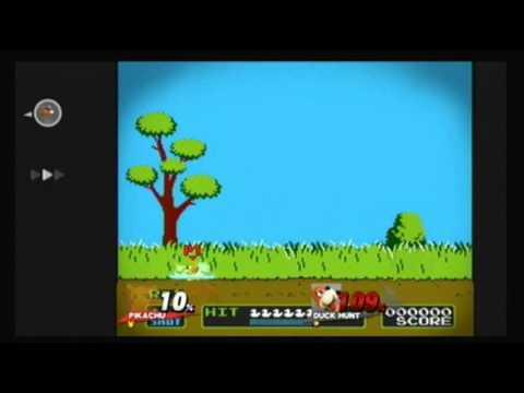 Super Smash Bros. for Wii U - Unlocking Duck Hunt