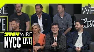 Future Man Cast Tease Season 2 | NYCC 2018 | SYFY WIRE