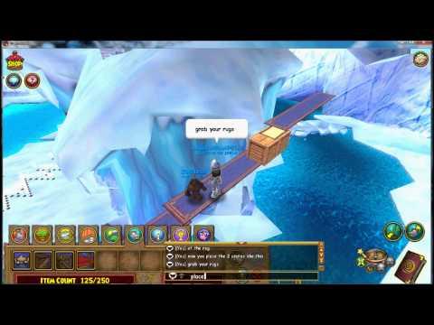 Wizard101: floating rug glitch