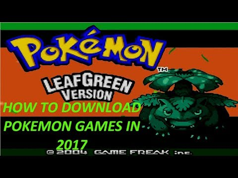 How To Download Pokemon Games On PC!