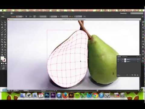 Tracing an Object Using Gradient Mesh in Illustrator CS6/CC