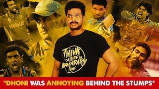 """Dhoni was annoying behind the stumps"" - Vishnu Vishal | Fully Filmy"
