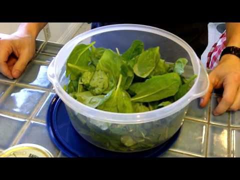 Quick Spinach Recipe - Tasty 60-Second Spicy Salad