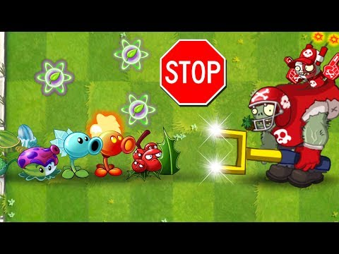 Every Premium Plant vs All Star Zombie in Plants vs Zombies 2 Compilation of Plants
