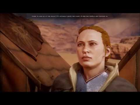 Dragon Age Inquisition - Scout Harding at Forbidden Oasis