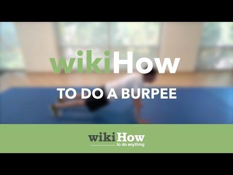 How to Do a Burpee