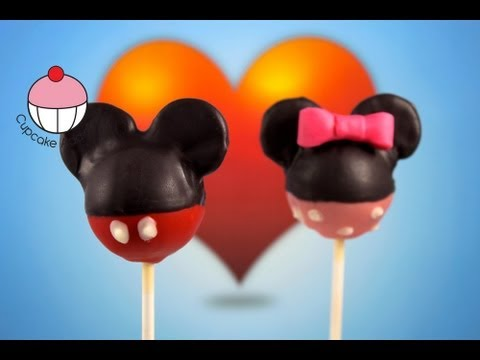 Mickey Mouse Cakepops! Learn How To Make Mickey Cake pops - A Cupcake Addiction Tutorial