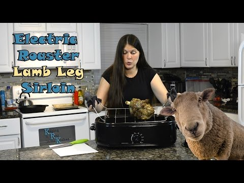 How to Cook Lamb in an Electric Roaster Oven I Episode 41