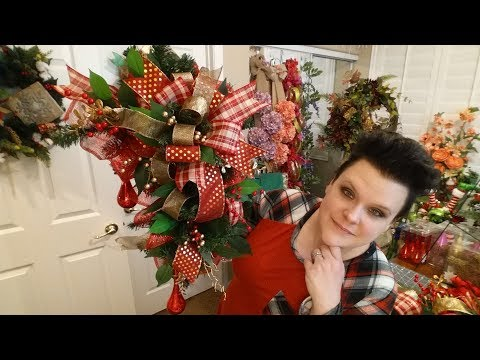 Christmas Door Frame Swag