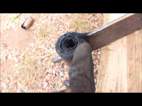 How to remove a leaf spring/rubber bushing FAST AND EASY!!