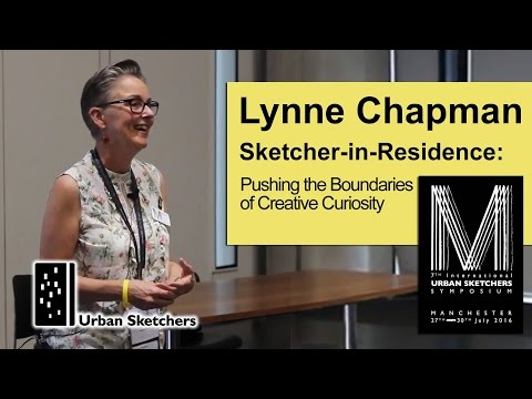 Sketcher-in-Residence: Pushing the Boundaries of Creative Curiosity, Lynne Chapman