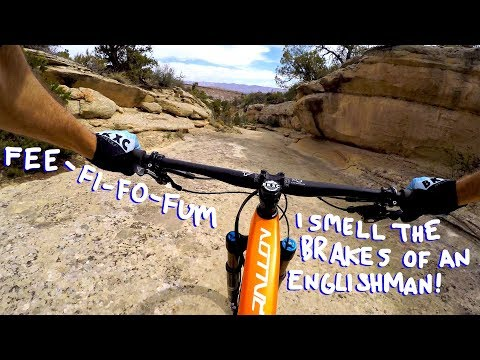 WIDE OPEN AND WINDY ON THE RIBBON | Mountain Biking Grand Junction's Lunch Loops