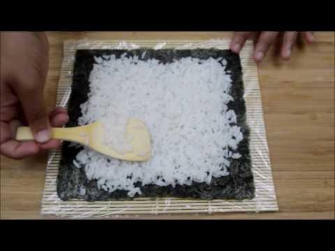 Sushi  Shrimp tempura