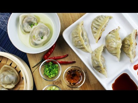 Vegan Mushroom Dumplings | Recipe by Mary's Test Kitchen