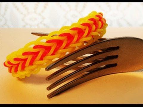Cornrow bracelet on 2 Forks