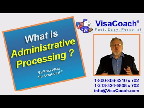 Administrative Processing after US Consular Interview, K1 or CR1 Visa faq 78
