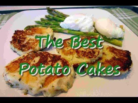 The Best Potato Cakes ~Leftover Mashed Potatoes Recipe