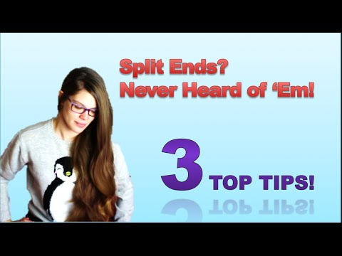 3 Best Tips to Avoid Split Ends WITHOUT Trimming!