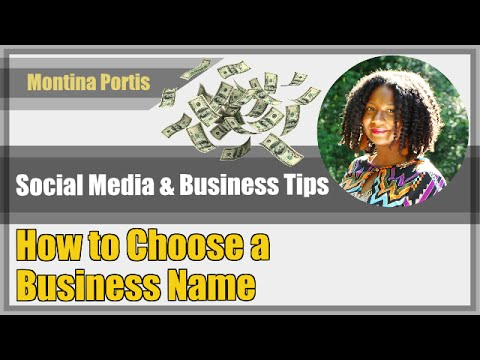 How to Choose a Business Name that Makes Sense and Cents