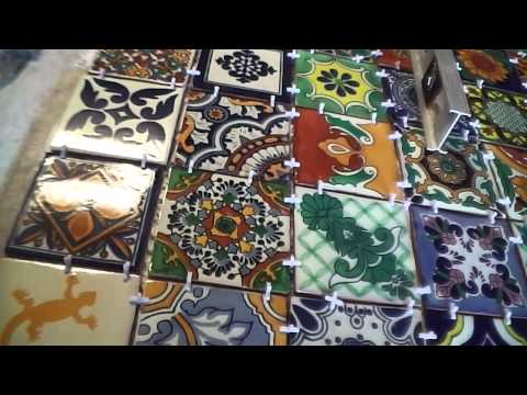 Sal Romito   tiled table part 7