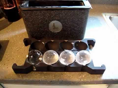 Wintersmiths Ice Spheres New Ice Chest: Unboxing and Demo
