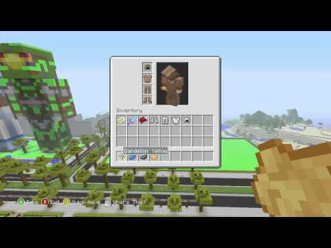 Minecraft Xbox 360 Edition: How to Dye Leather Armour