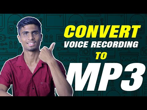 How Freely & Easily Convert Voice recording To Mp3 By Android-100% Real
