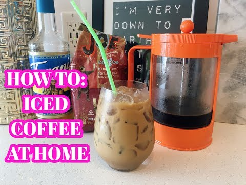 HOW TO: ICED COFFEE AT HOME COLD BREW RECIPE