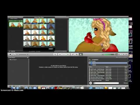 How to make a msp music video on mac