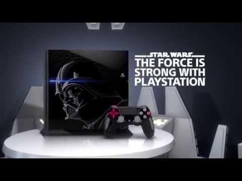 Limited edition Darth Vader inspired PS4 | Exclusive