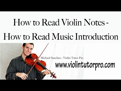 How to Read Violin Notes - How to Read Music Introduction