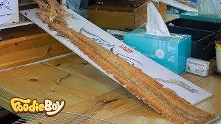 Download Pressed Cuttlefish / Korean Street Food / DongMyeong Port, Sokcho Korea Video