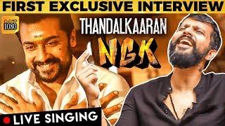 NGK - Thandalkaaran LIVE Singing - Recording with Yuvan Shankar Raja   Suriya   Sai Pallavi
