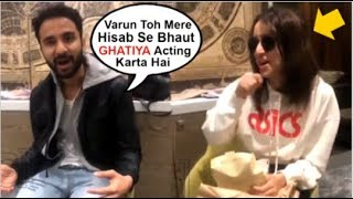 Shraddha Kapoor Cant Stop LAUGHING After Raghav Juyal Makes FUN Of Varun Dhawan