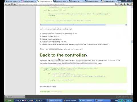 Codenvy ZF2 Tutorial App DB Form CRUD. Simply Easy Fast