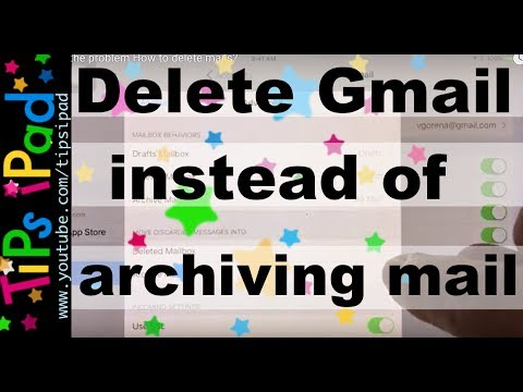iPad  Gmail  Fix the problem  How to delete mails?